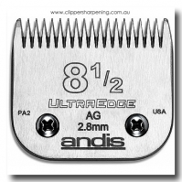 ANDIS SIZE 8.5 FULL TOOTH 2.0mm