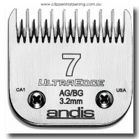 ANDIS SIZE 7 SKIP TOOTH 3.2mm